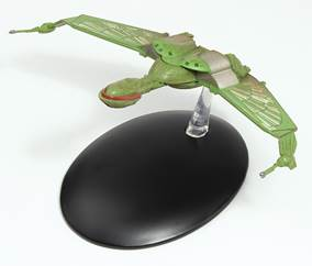 EM-ST0003 Klingon Empire Bird of Prey Warship Diecast Model