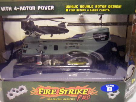 06582 Revell Pro With 4 Motor Power Radio Control Helicopt