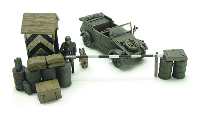 BL19691 Kubelwagen and Guard Post 172 Scale