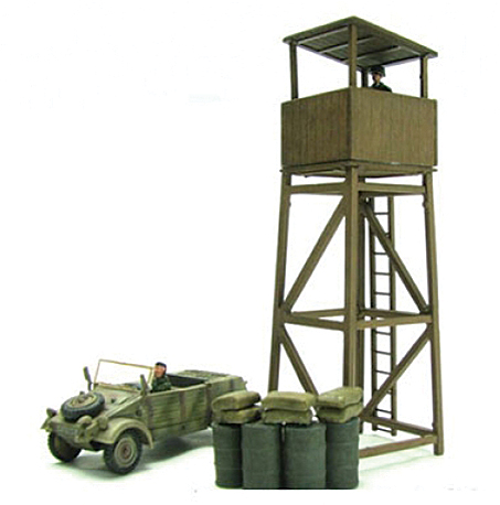 BL19692 Kubelwagen & Watch Tower 172 Scale