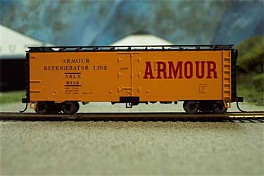 MP 2229 - HO Scale - 41' Metal Reefer, Metal Freight Car