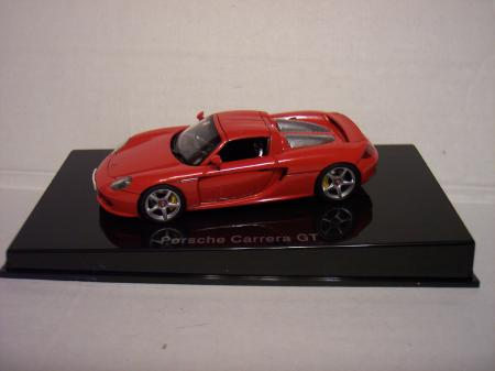 58043 Porsche Carrera GT (Red) 143 scale