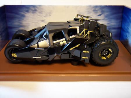 65481 The Dark Knight Batmobile Synthetic Rubber Tires 118 Scale