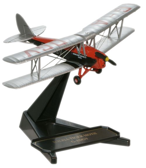 72TM002 De Havvilland D.H. 82A Tiger Moth 172 scale