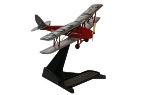 72TM003 De Havilland Flying Club Tiger Moth 1:72