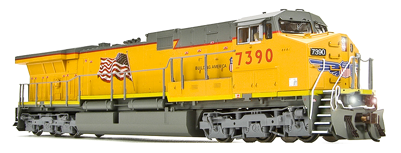 BWL 2466 GE AC6000 UP#7391 Bldg America Scheme HO Scale