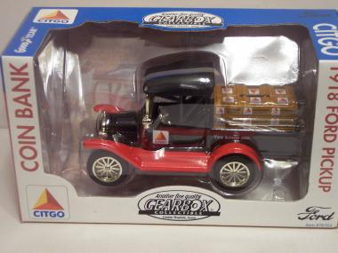 76753 1918 Ford Runabout Pickup Coin Bank