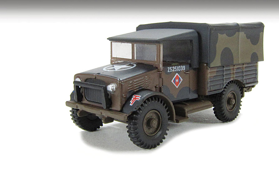 76MWD001 Bedford MwD Truck Mickey Mouse 176 Scale