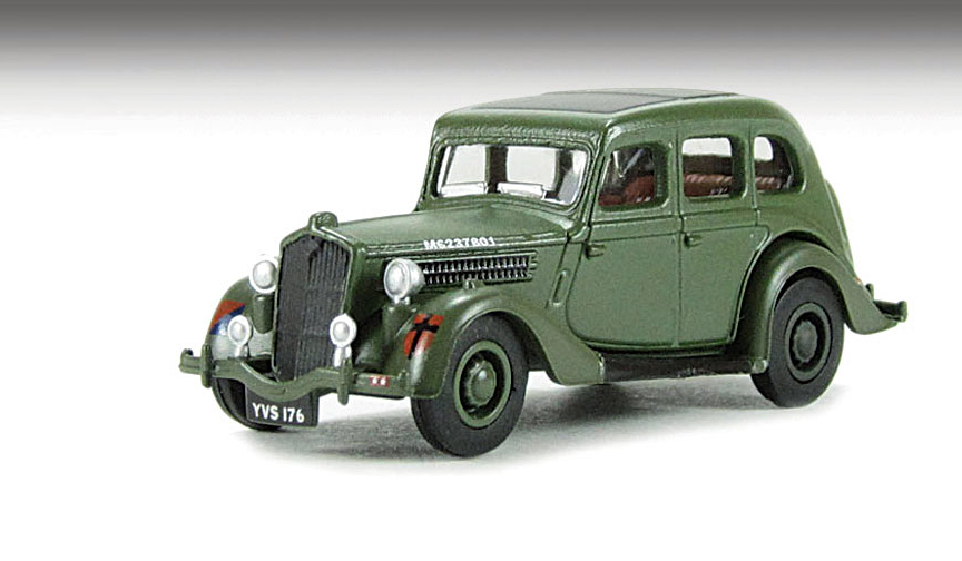 76WO002 Wolseley 18/85 British Army 176 Scale