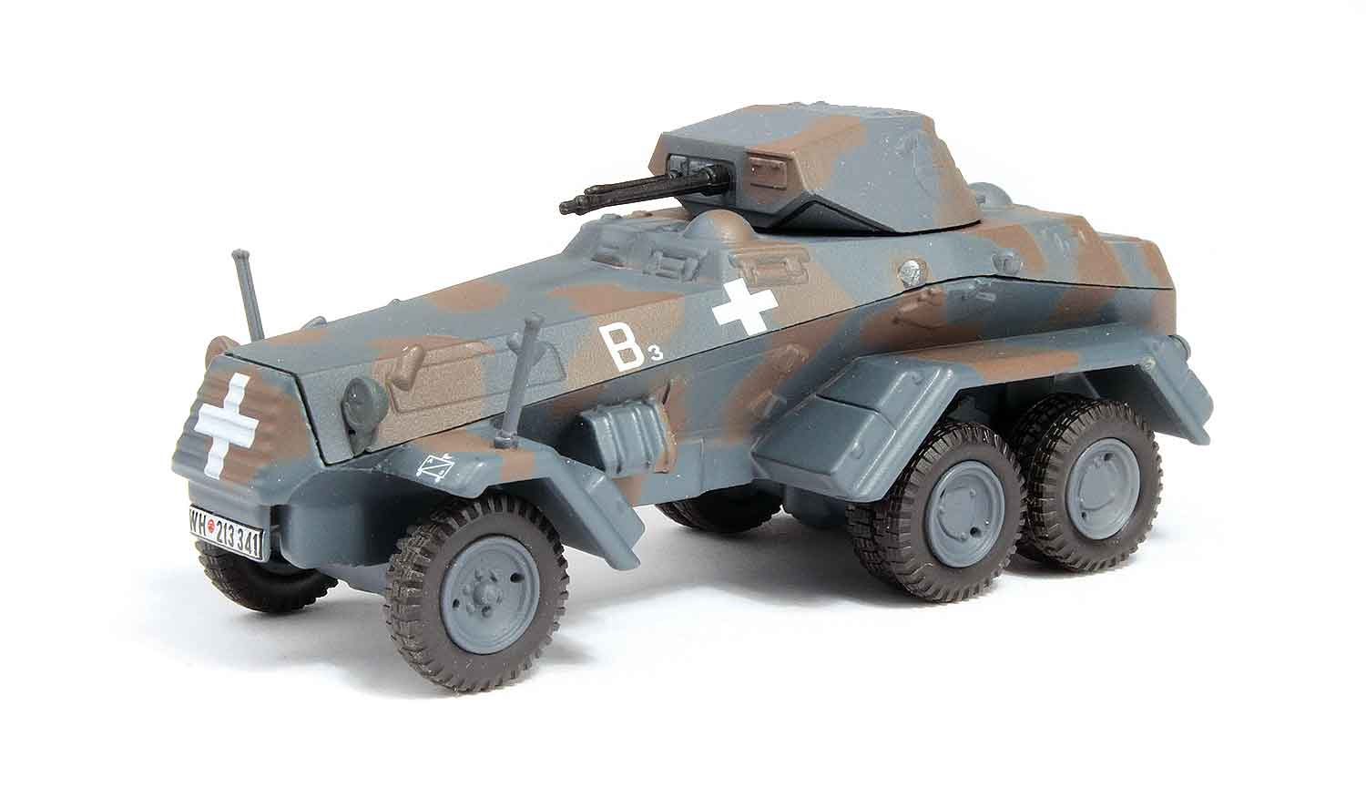 95590 Sd. Kfz. 231 172 Scale