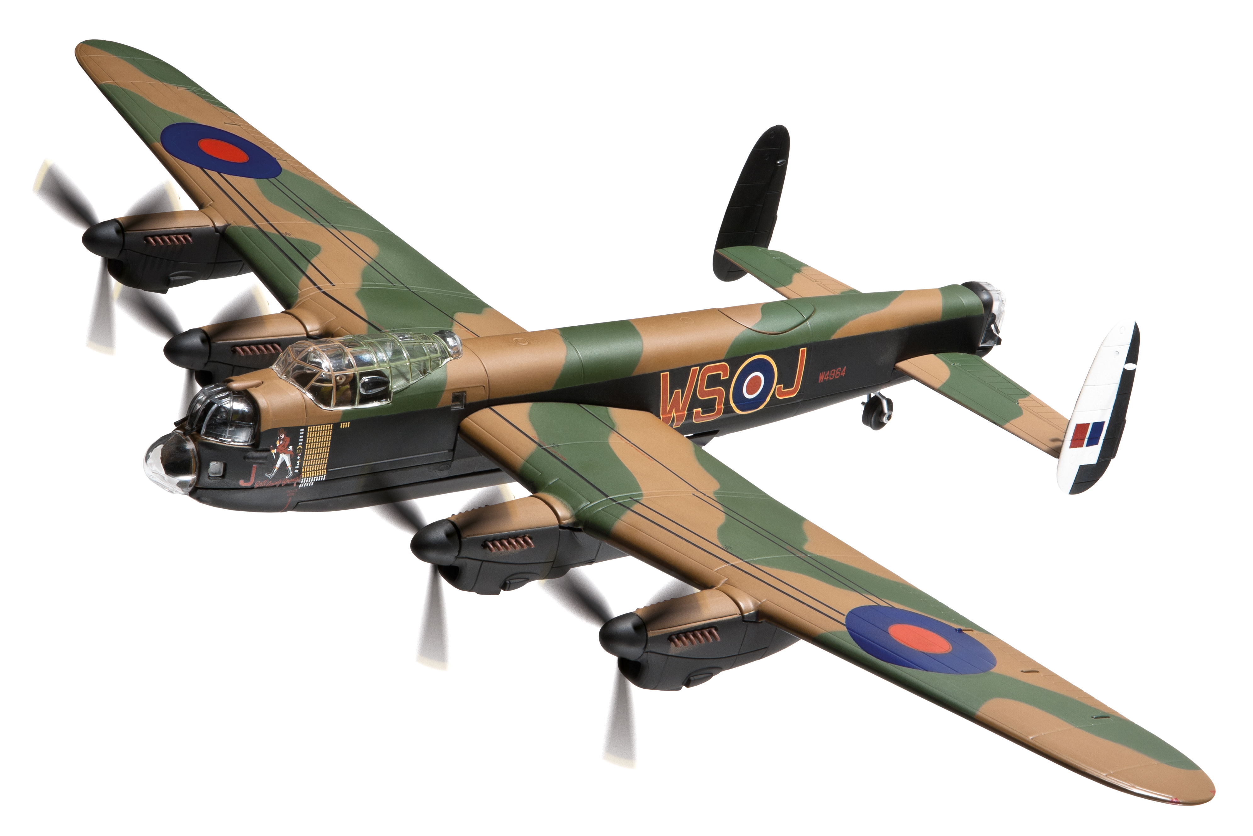 "AA32619 Avro lancaster B.I ""Johnny Walker"" No.9 Sqn. 172 Scale"