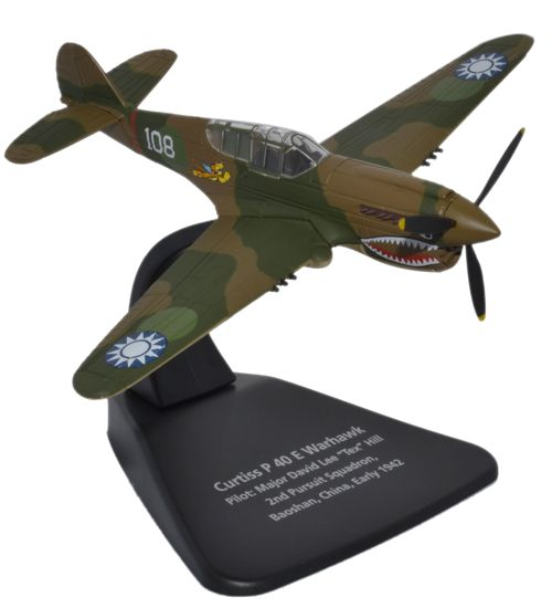 AC043 CURTISS P40E WARHAWK TEX HILL 172