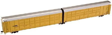 Atlas 6330 HO Scale Articulated Auto Carrier UnDecorated