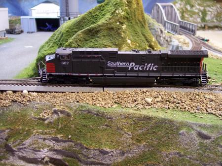 BWL 5062 GE AC 6000 SP #602 Low Ditch Lights DC Sound HO Scale