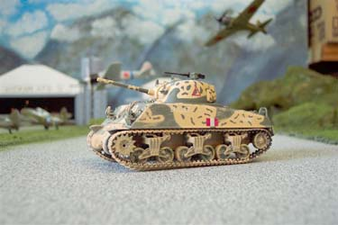CC51004 M4 A3 Sherman Tank British Army 150 Scale