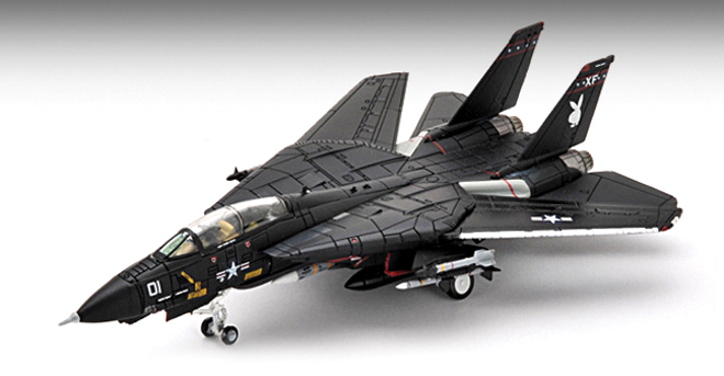 "CW912380 F-14A Tomcat ""Vandy1"" 1985 1/144 Scale - Click Image to Close"