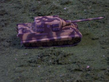 GDRW60127 man Jagdpanther Porsche Version 172 Scale