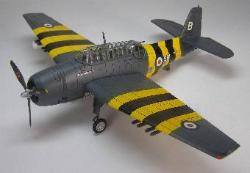 "HA1203 Avenger A.S. MKIV royal Navy ""Berly the Peril"" 172 Scale"