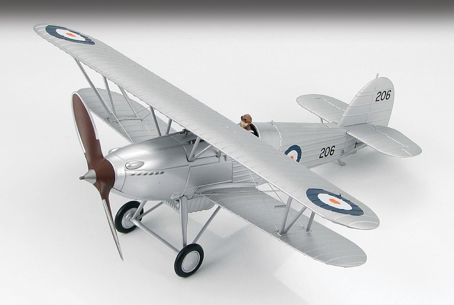 HA8002 Hawker FuryI South Africa 148 Scale