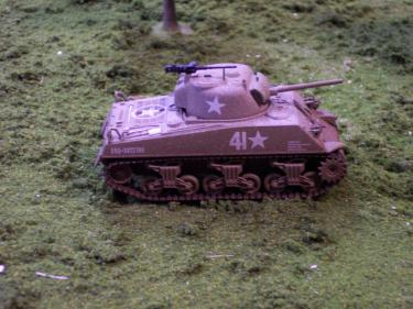 HC51018 Sherman Tank, Team O' Hara150 Scale