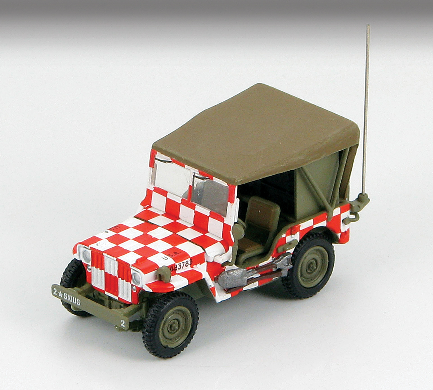 HG4209 Willys MB Jeep Airfield Jeep 172 Scale