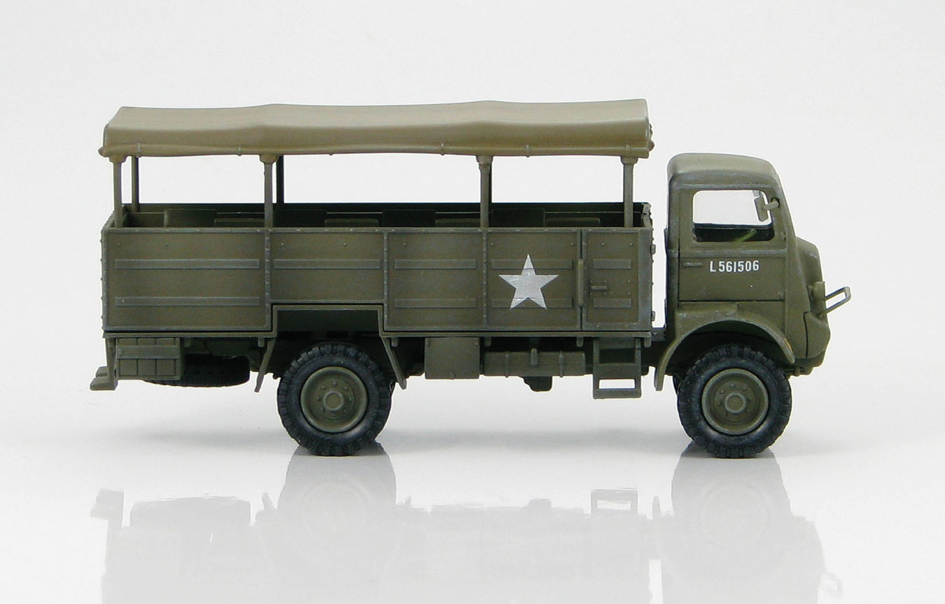 HG4805 Bedford QLT 8th Rifle Battalion Polish 1 172 Scale