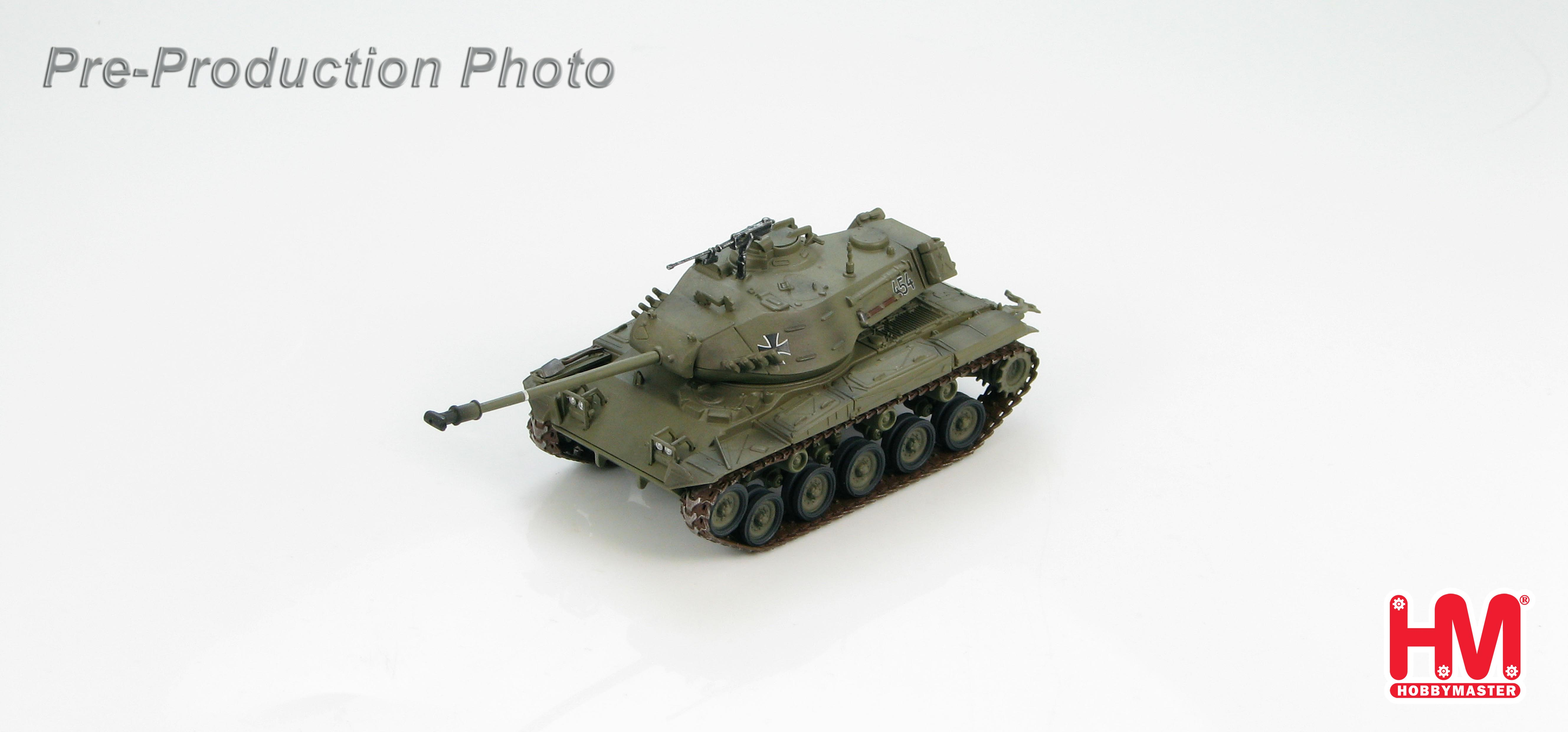 HG5305 M41G WALKER BULLDOG GERMAN ARMY 1950S 172 SCALE