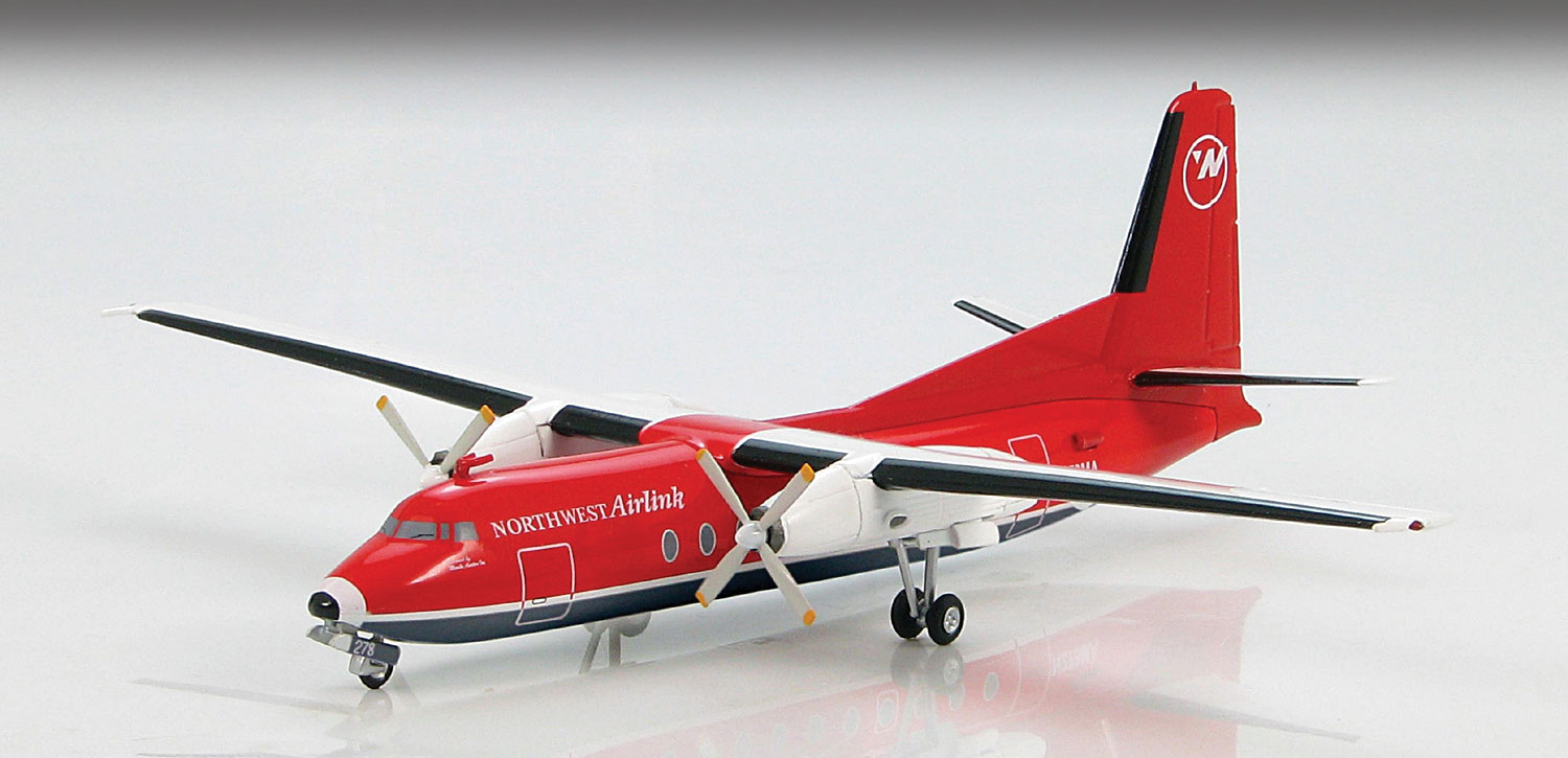 HL1107 FOKKER F-27 FRIENDSHIP 1200 SCALE