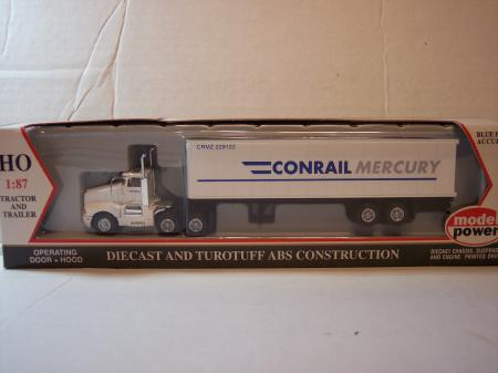 MP15004 Model Power Conrail Tractor Trailer 187 Scale