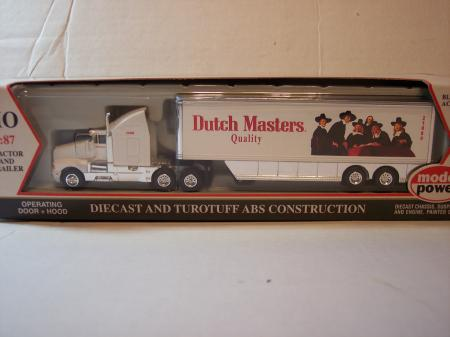 MP21004 Model Power Dutch Masters Tractor Trailer 187 Scale