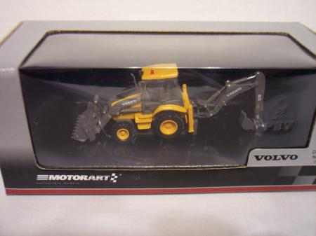 MOTO130860 Volvo BL71 Backhoe Loader High Teck line 187 Scale