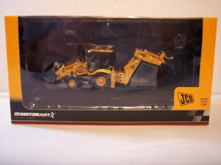 MOTO131362 JBC 3CX Back Hoe 187 Scale