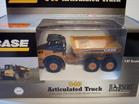 NOR21001 Case 340 Articulated Truck 187 Scale