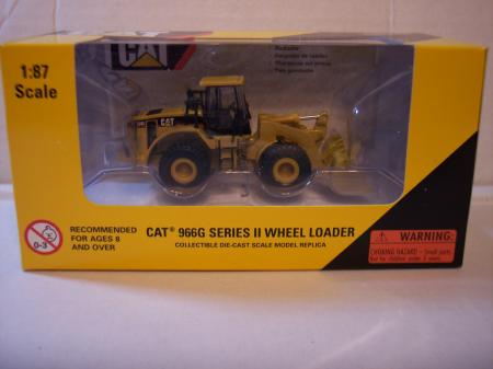 NOR55109 Cat 966G Series II Wheel Loader 187 Scale