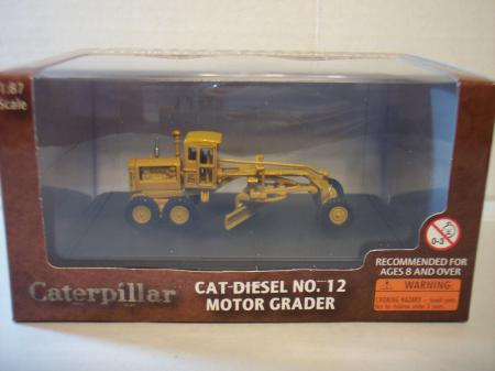 NOR55173 Cat Diesel No.12 Motor Grader 187 Scale