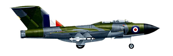 SGE72-004-01 Gloster Javelin 1961 172 Scale