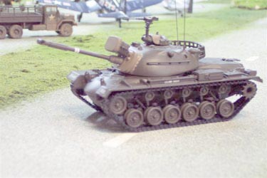 US50304 M48-A3 Patton Tank - U.S. Army 150 Scale