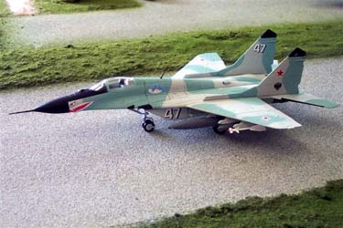 B11B607 Mig -29 C Fulcrum Soviet Air Force V-VS 148 Scale