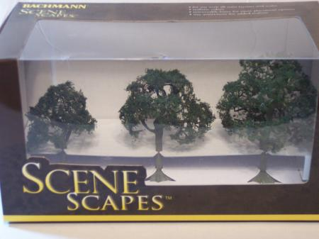 "Bachman Trees 2.5""-3.5"" Walnut HO Scale"
