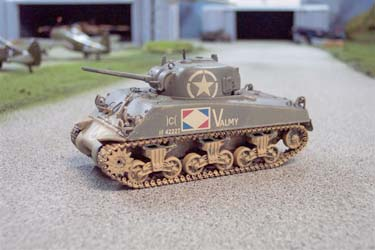 CC51005 Sherman M4A2 French Army, 3e Ptn, 4e Esc