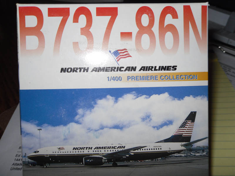 55240 B737-86N North American Airlines 1/400 Scale