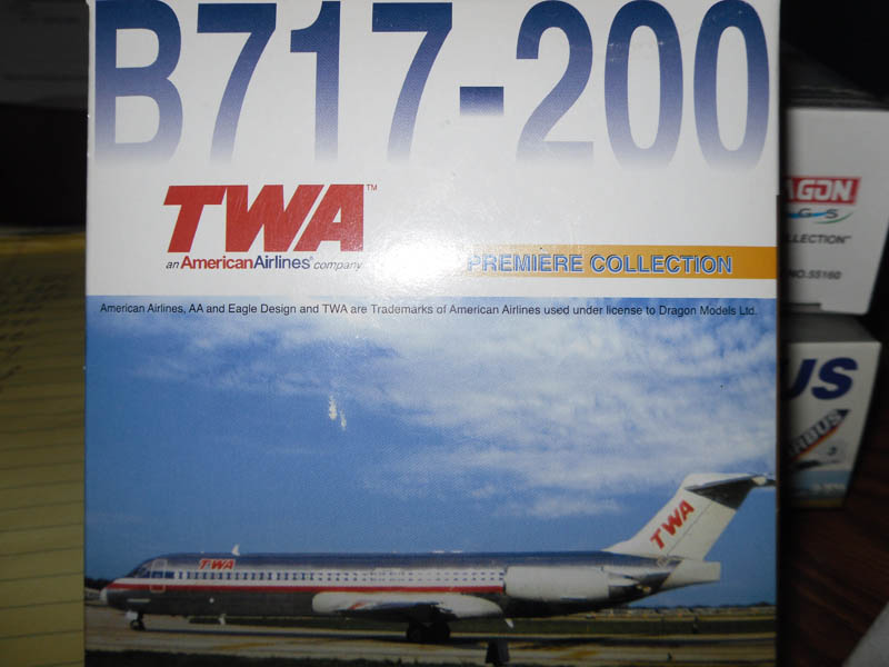 55386 Boeing B717-200 TWA Premiere Collection 1/400 Scale