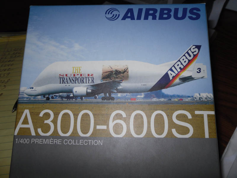 55559 A300-600ST AirBus Premiere Collection 1/400 Scale