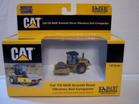 NOR55155 Cat 563E Smooth Drum Soil Compactor 187 Scale