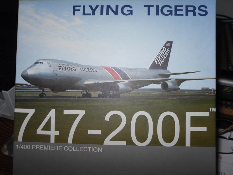 55731 747-200F Flying Tigers Special Version 1/400 Scale