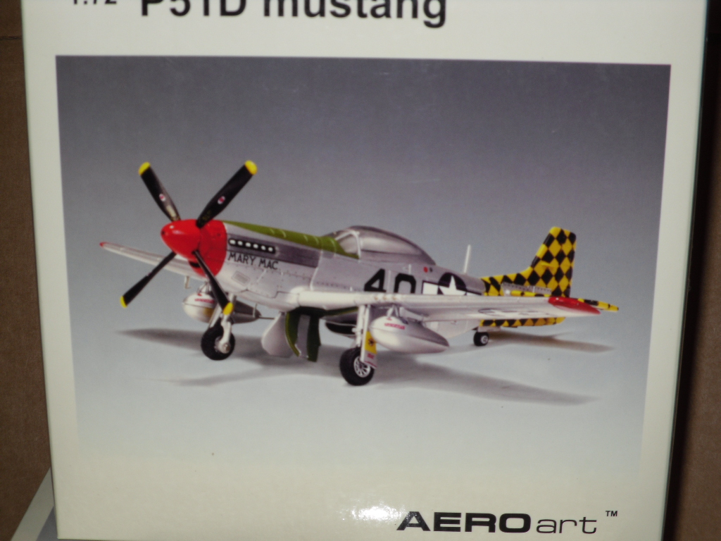 Auto Art 37202 P-51 Mary Mac 172 Scale