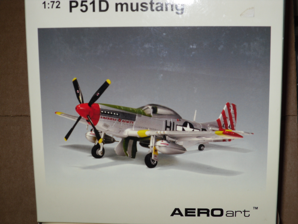 Auto Art 37201 P-51 American Beauty 172 Scale