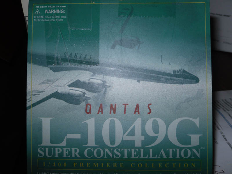 55531 L-1049G Super Constellation 1/400 Scale